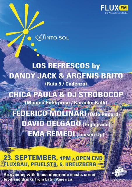 Club Quinto Sol at FluxBau Berlin
