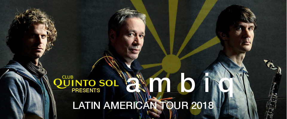 Ambiq South America Tour 2018